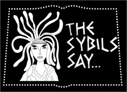 The chosen logo I designed for my fav girls in our Sybil's performance poetry group. And we rocked!
