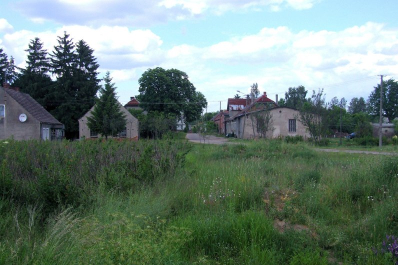 View of the village from the south side.