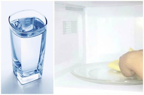 Membersihkan air bersih.
