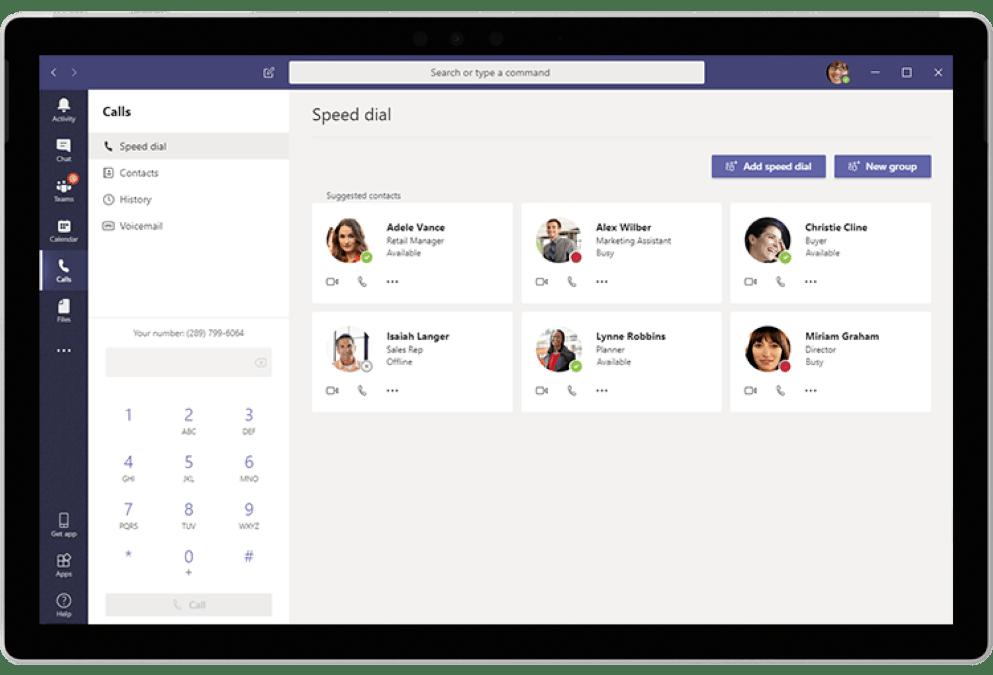 Microsoft 365 Business Voice Communication