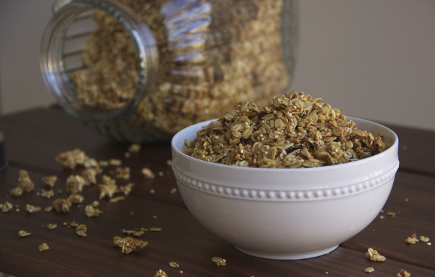 This all natural granola is great for breakfast or a quick snack. No guilt in this sweet pleasure.