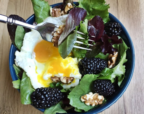 Blackberry-Breakfast-salad | www.trueats.net