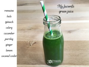 my favorite green juice