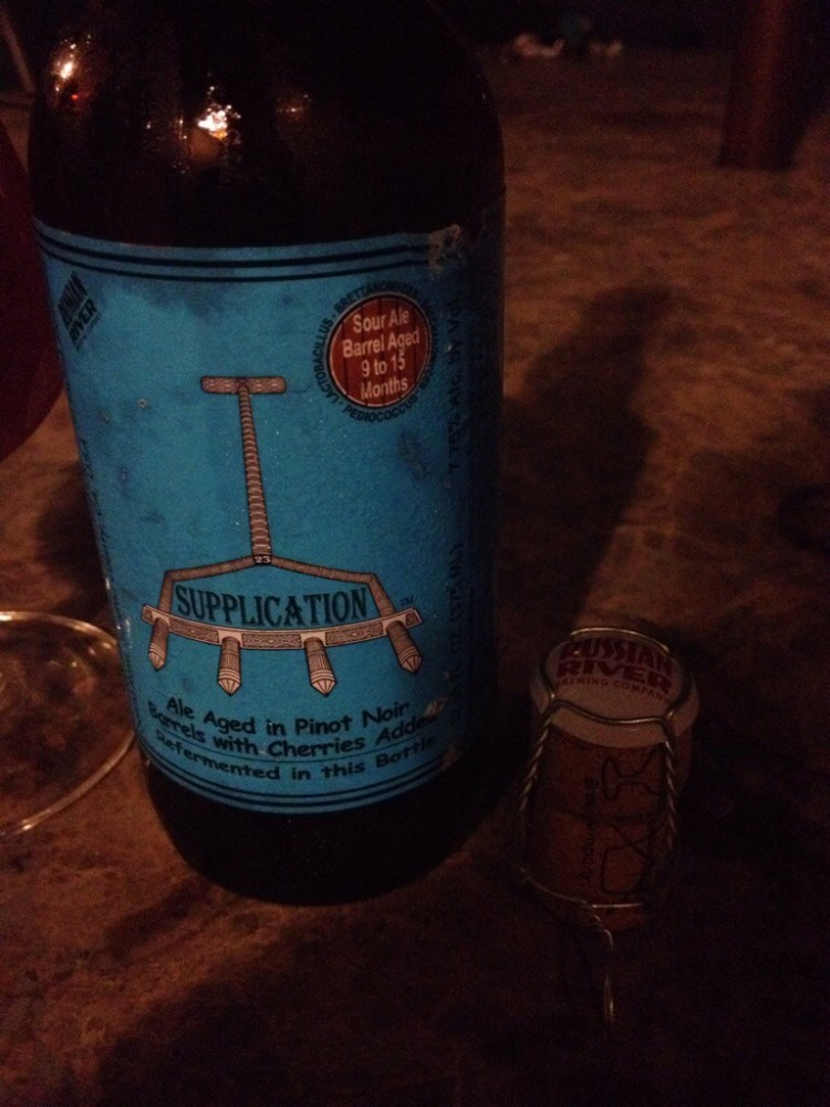 Supplication - Russian River Brewing - Bi-Weekly Beer Review Episode 8 (1/2)