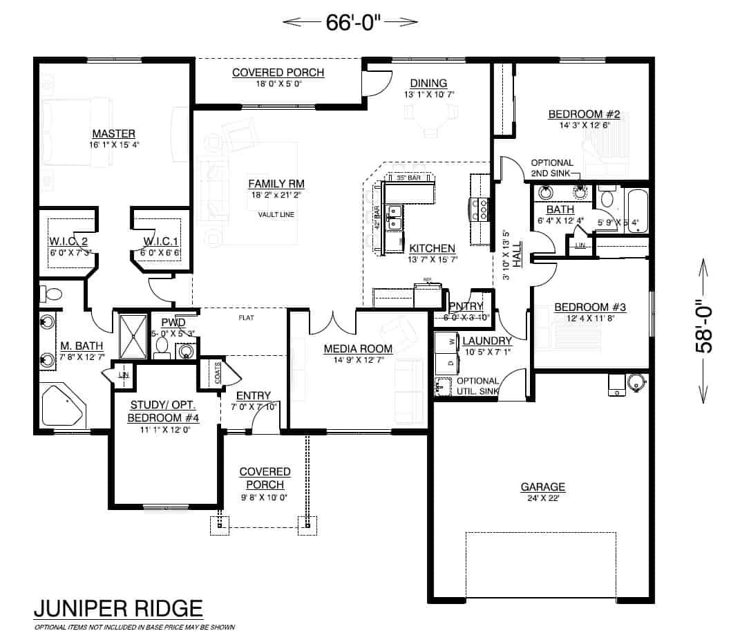 Juniper Ridge Home Plan Our Most Popular