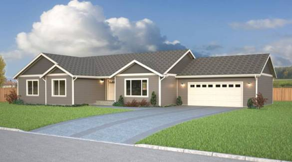 Rambler Home Plans   True Built Home   Pacific Northwest Home Builder