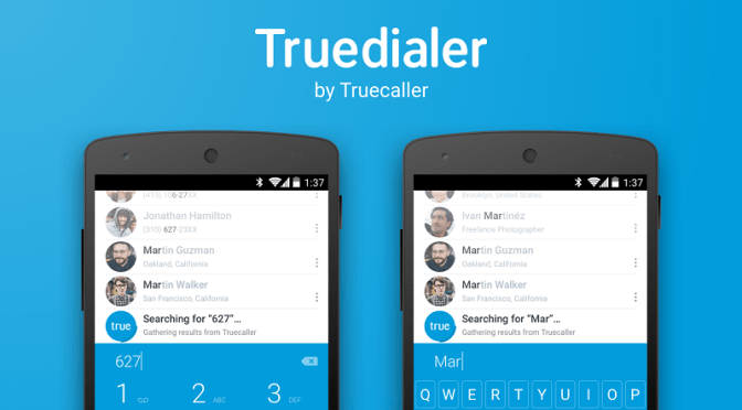 Welcome to the family, Truedialer!