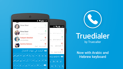 Truedialer Now Supports Arabic and Hebrew Keyboards!