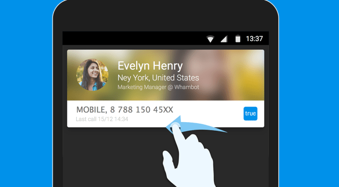 Movable Caller ID for Android!