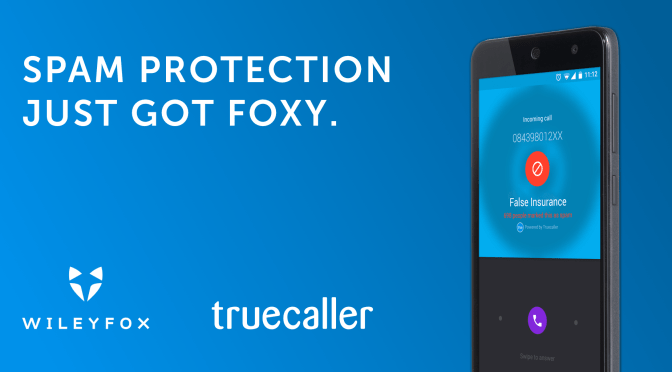Spam Protection Available for Wileyfox Swift!