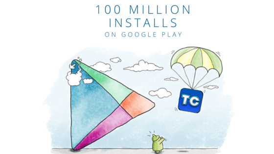 Truecaller Joins Google Play's Elite 100 Million Installs