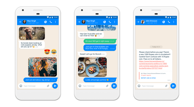 Truecaller Launches Chat Feature to Combat Fake News