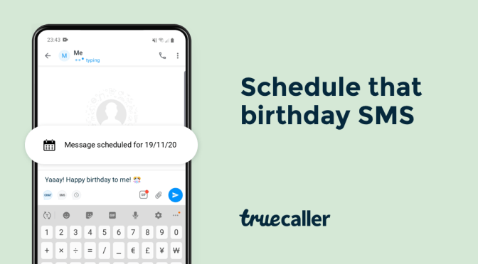 5 Daily Tasks That Truecaller's Schedule SMS Feature Can Help Conquer