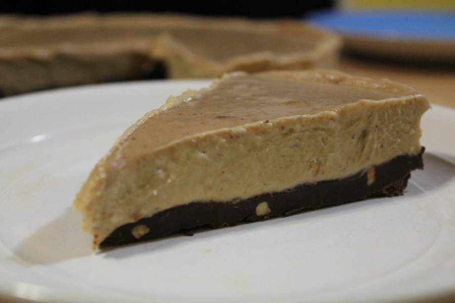 Vegan Peanut Butter Banana Pie