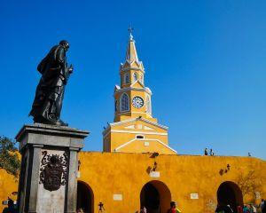 Torre Reloj Statue CartagenaJPG