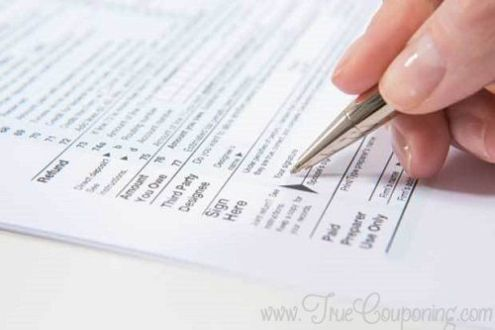 Income Tax Savings Tips  Avoid These Top 5 Mistakes  Sign your Form