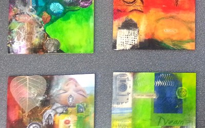 Samples from the Mixed Media Basics Workshop
