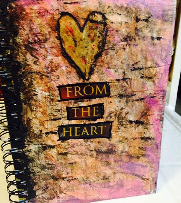 Visual Journaling Cover Sample