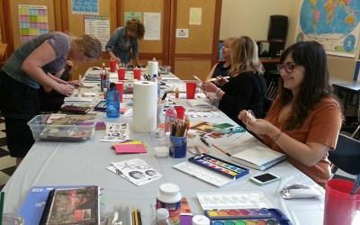 Visual Journaling Workshop