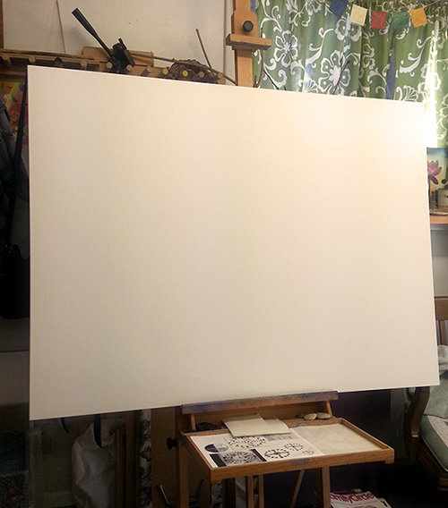 Daunting Ocean of the Blank Canvas