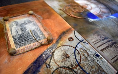 From my last A Day of Mixed Media Workshop
