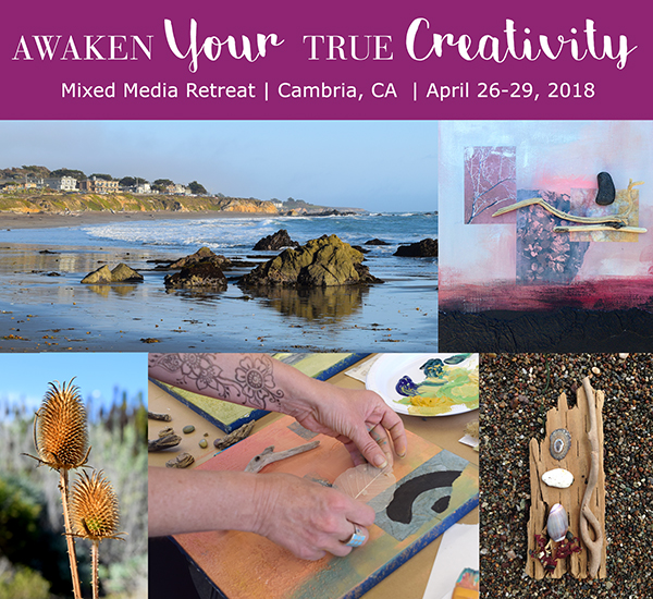 Mixed Media Retreat 2018 – Registration is Now Open