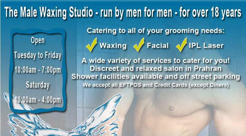 Website of Male Salon Mark Anthony is threatening