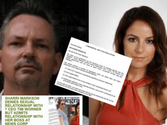 SHARRI VS SHANE! Hopping mad News Corp scribbler Sharri Markson calls in lawyers against Kangaroo Court over Tim Worner sex & cocaine scandal