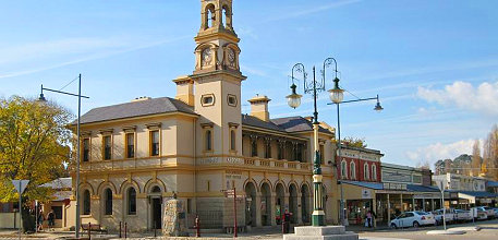 The historic gold-rush town of Beechworth (Image: Supplied)