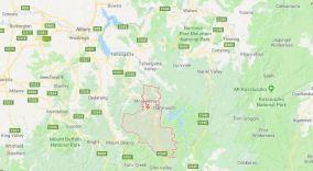 The region of Mitta Mitta in north-east Victoria (Image: Google Maps)