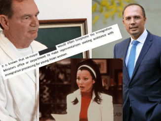 "AU PAIR, OH BOY! Peter Dutton now embroiled in ""young Asian women"" sex worker scandal involving disgraced mayor Paul Pisasale as nation wonders ""what's the go with the au pairs"""