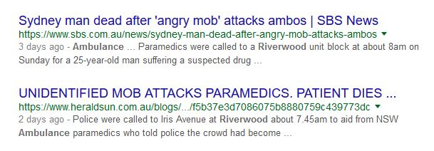 More Stories on Ambo Attack