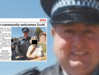 BABY-FACED CRIMINAL COP OUT ON BAIL! NSW Police officer Scott John Brotherton guilty of assaulting three victims but child rape charges withdrawn