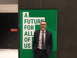 """GREENS A GO-GO! Richard Di Natale """"hopeful & optimistic"""" his party can play meaningful role at election"""