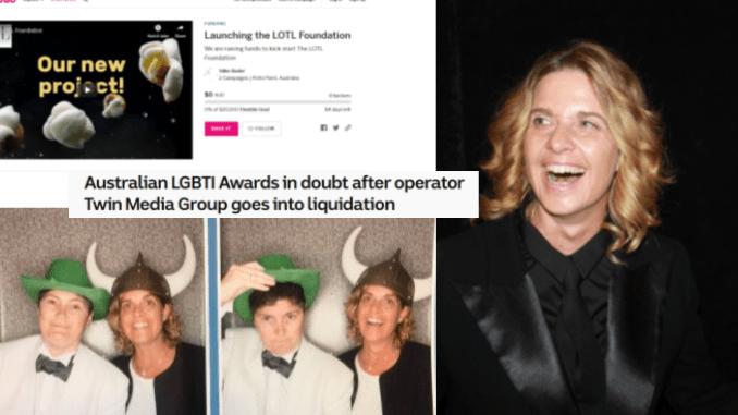 "After sham LGBTI Awards go bust, lesbian media publisher Silke Bader now begging for tens of thousands of dollars to start so-called ""foundation"""