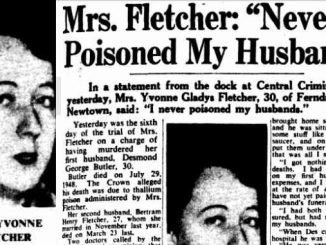 THE POISON FOR RAT & HUSBAND ALIKE! Yvonne Fletcher and the trail of death in Newtown