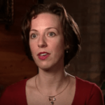 Helga Luest during her appearance on Forensic Files