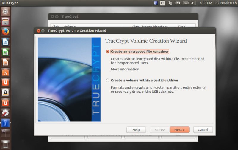 trucrypt sur linux