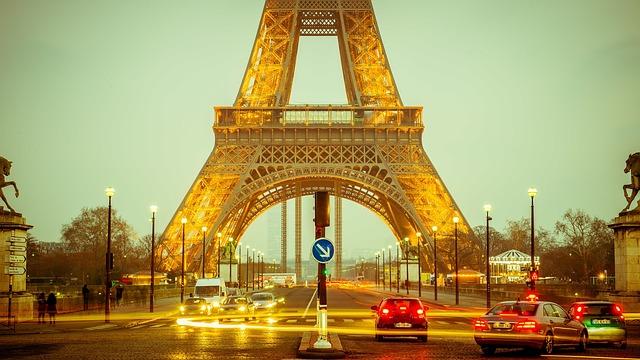 Paises mais visitados do mundo - Torre Eiffel - França