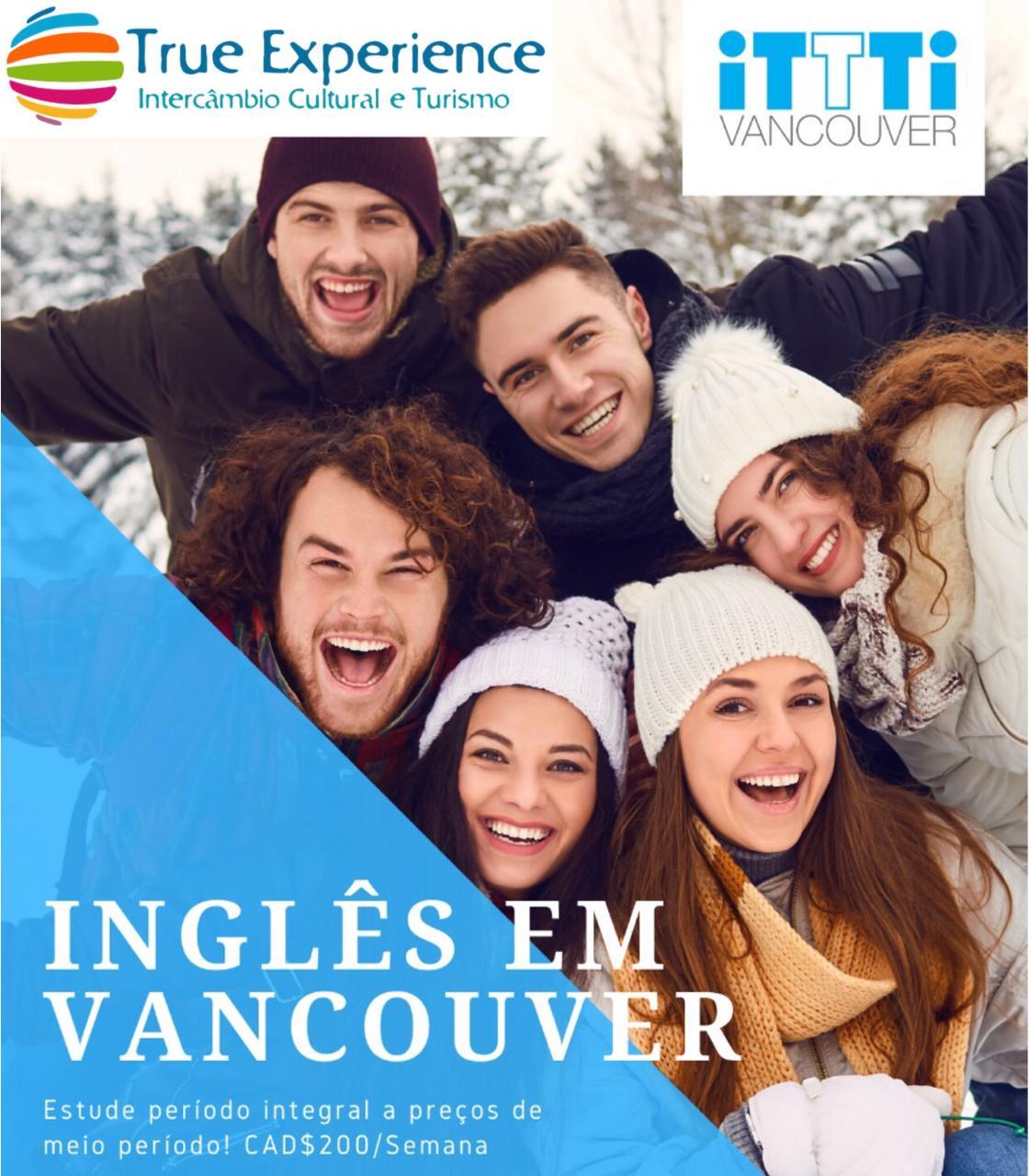 Promoção para intercâmbio em Vancouver