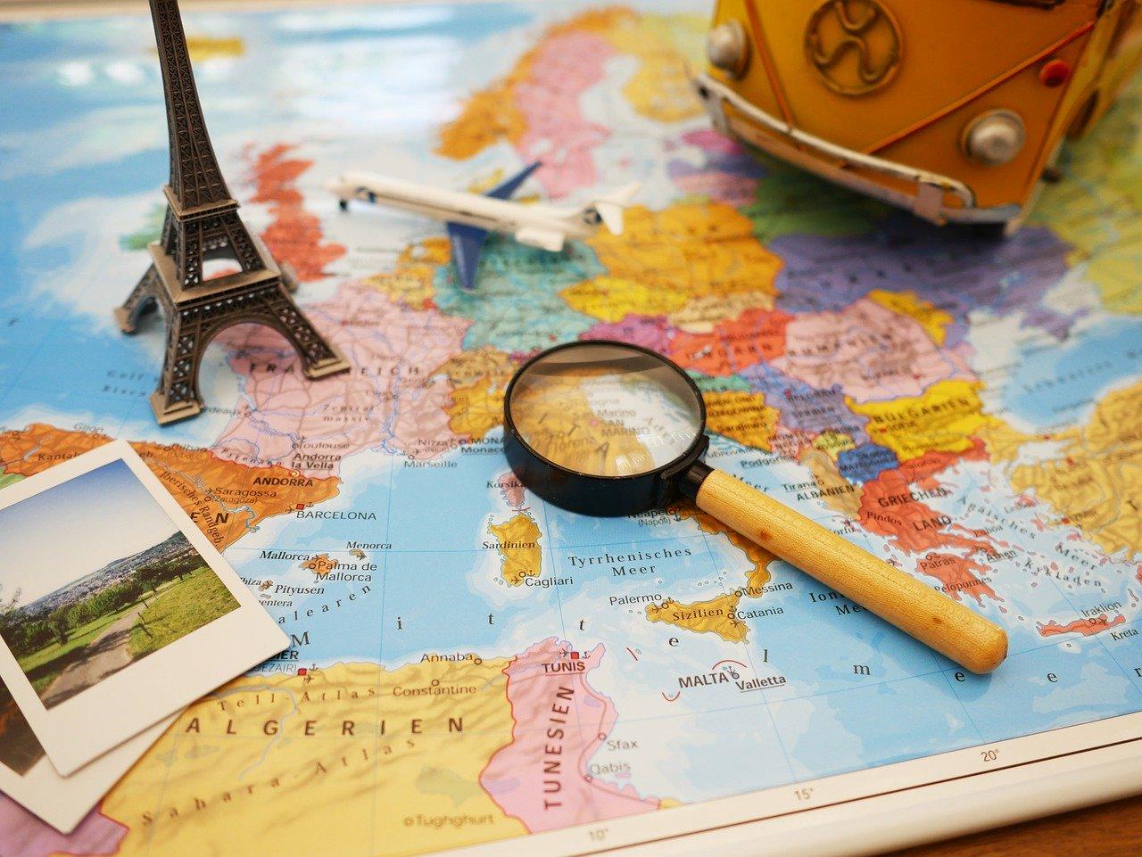 Países que estão reabrindo para Turismo e Intercâmbio