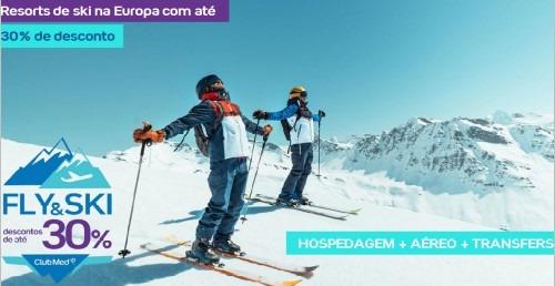 Resorts de ski na Europa com até 30% de desconto – Fly & Ski Club Med