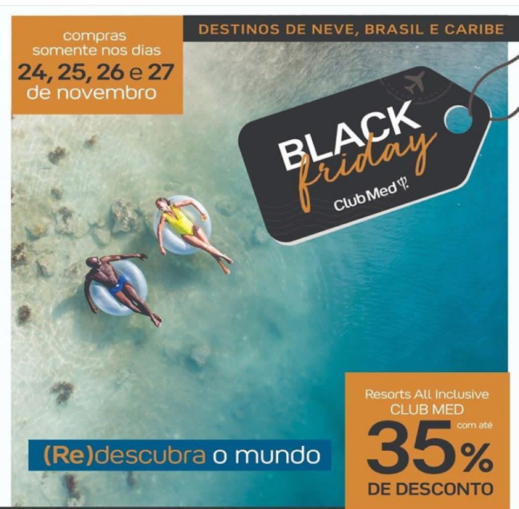 A VERDADEIRA BLACK FRIDAY – RESORTS ALL INCLUSIVE NO BRASIL, EUROPA E CARIBE