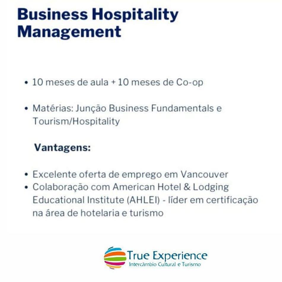 Business Hospitality Management