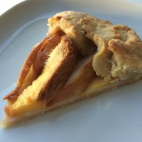 Pear and Apple Galette with Gluten Free Pie Crust