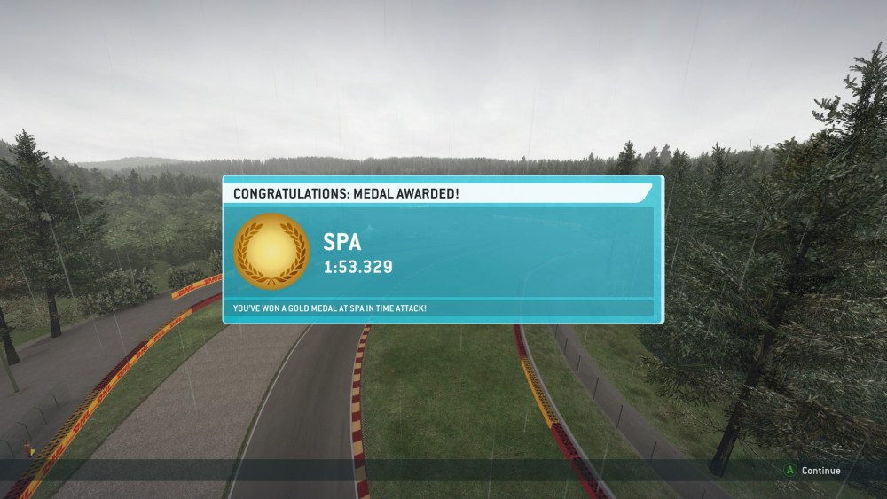 Gold Medals Obtained in Every Time Attack in F1 2013 (Screenshots Included) (4/6)