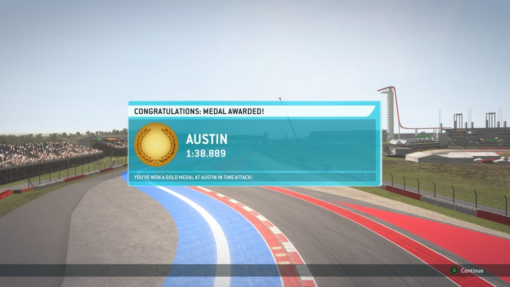 Gold Medals Obtained in Every Time Attack in F1 2013 (Screenshots Included) (6/6)