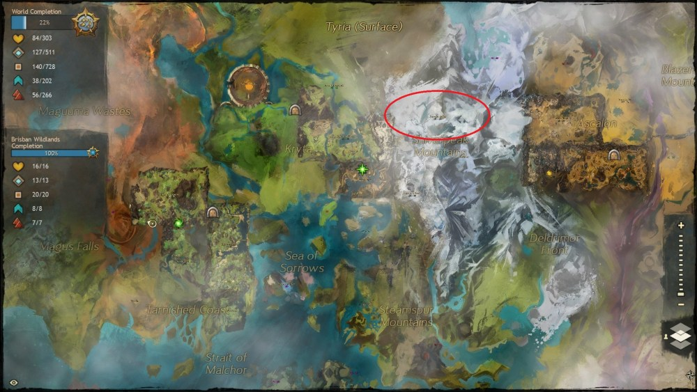 Let's Visit Tyria – All the Vistas in Guild Wars 2 – Snowden Drifts (1/6)