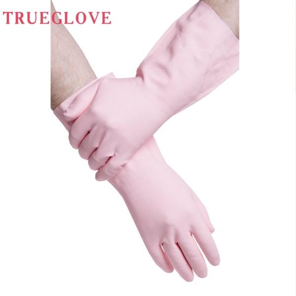 Купить нитриловые хозяйственные перчатки с хлопковым напылением для дома и сада
