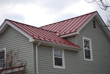 Minden metal roof completed job!